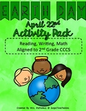 Earth Day Activity Pack - Reading, Writing, and Math align