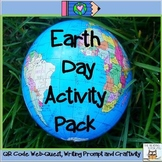 Web Quest: Earth Day | QR Codes Task Cards Multisensory Ac