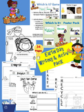 Earth Day Writing & Activity Pack    Reduce, Reuse, Recycle