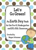 Earth Day Activity Pack for the Pre-K, Kindergarten and EFL/ESL Classroom
