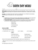 Earth Day Activity Packet- 2 Writing Assignments and a Readers' Theater