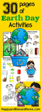 Earth Day Activity Printable Pack
