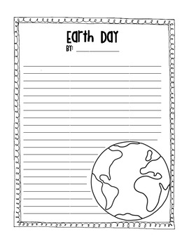 Earth Day Activity Printables- FREEBIE