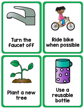 Earth Day Printable Activity Set - Sorting, Games, and Posters