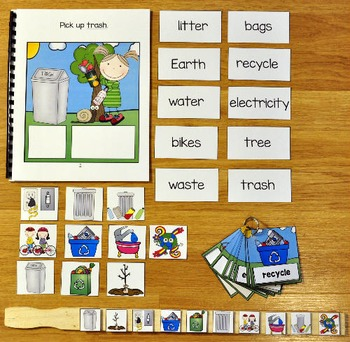 Earth Day Adapted Book and Vocabulary Activities
