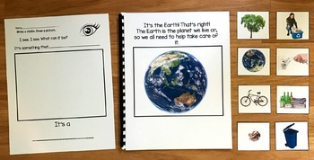 """Earth Day Adapted Book:  """"I See Earth Day"""" (w/Real Photos)"""