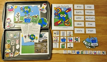 Earth Day Adapted Books Unit
