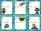 Earth Day Adding Groups of 10 Addition Write the Room Game
