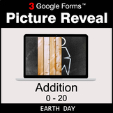 Earth Day: Addition 0-20 - Google Forms Math Game   Distan