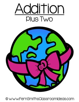 Earth Day Math A Quick and Easy to Prep Plus Two Addition Center Game
