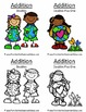 Earth Day Math Six Quick and Easy to Prep Addition Center Games Bundle