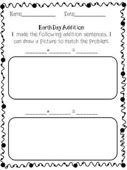 Earth Day Addition Fun