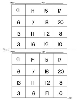Earth Day One digit Addition Subtraction Mixed Review Puzzle