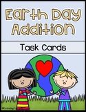 Earth Day Addition Task Cards