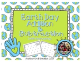 Earth Day Addition and Subtraction