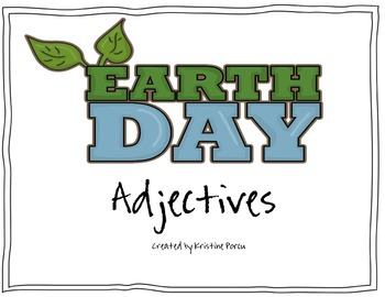 Earth Day Adjectives