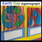 Earth Day Agamographs - A Fun, Engaging Spring Activity or Earth Day Activity