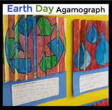 Earth Day Agamographs - A Fun, Engaging Spring Activity or