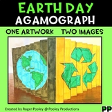 Earth Day Agamograph Art Activity
