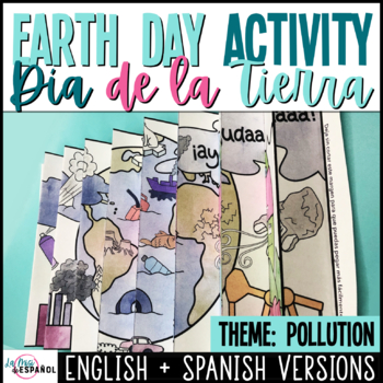 Agamograph Earth Day Activity  | Pollution | Actividad Día de la Tierra