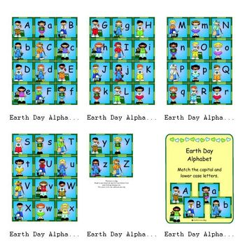 Earth Day Alphabet