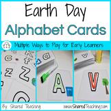 Earth Day Alphabet Match