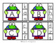 Earth Day  Alphabet Matching Clip Cards Preschool