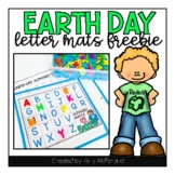 Earth Day Alphabet Matching Mats (FREEBIE)