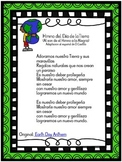 Earth Day Anthem - Spanish - Himno al dia de la Tierra