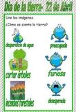 Earth Day- April 22--Dia de la Tierra- 22 de Abril (Spanish)