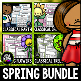 Spring Bundle, Earth Day, Arbor Day, Nature, Spring Activities, Seasons, Weather