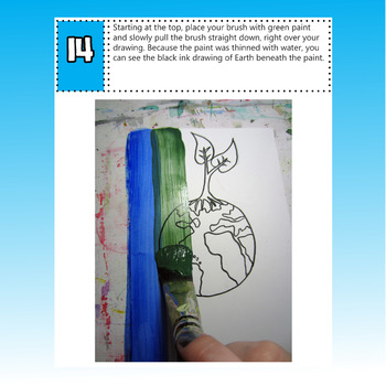 Earth Day Art Lesson