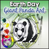 Earth Day Art Project, Giant Panda