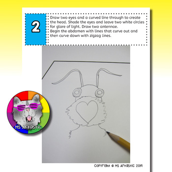 Earth Day Art Lesson, Honey Bee Art Project