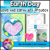 Earth Day Art Project, Love the Earth