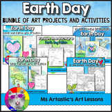 Earth Day Art Lessons Bundle