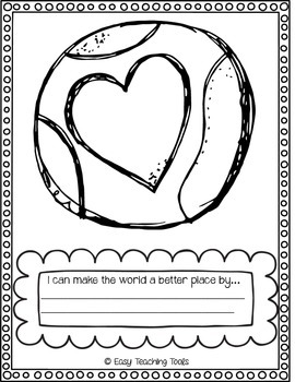 Earth Day Art and Writing Paper {FREEBIE}