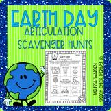 Earth Day Articulation Scavenger Hunt