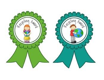 Earth Day Award Ribbons
