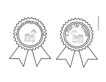 Earth Day Award Ribbons or Badges
