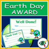 Earth Day Awards printable