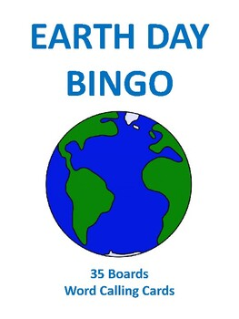 Earth Day BINGO!