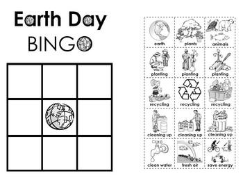 Earth Day BINGO Activity!