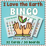 Earth Day BINGO Game