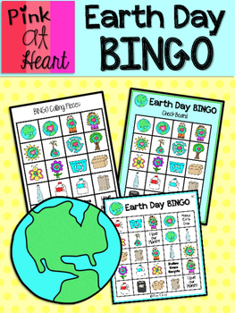 Earth Day BINGO Game - 7 Player