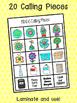 Earth Day BINGO Game - 7 Player