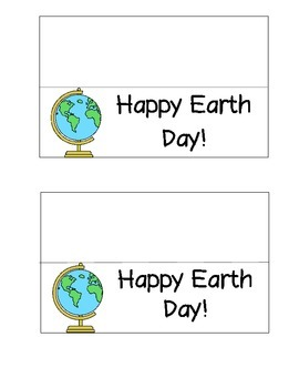 Earth Day Baggie Cover