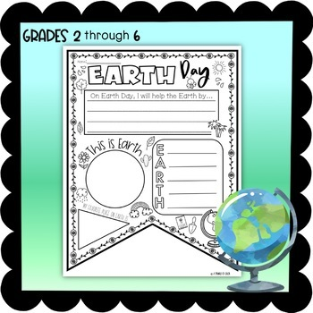 Earth Day Banner Activity