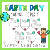 Earth Day Banner and Classroom Display