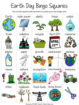 Earth Day Teaching Resources Lesson Plans